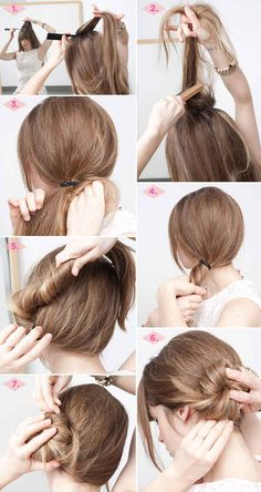 The Asymmetrical Chignon