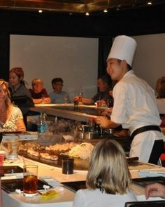 Teppan Edo at Epcot® where we have gone for every vacation as our ending meal.