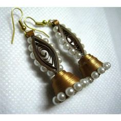 Paper Jumki quilled earrings♥
