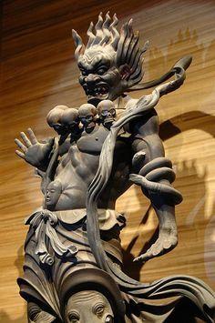 Great General Jinja, Kaikei (newly discovered), Koyasan Reihokan Museum, Wakayama (Scheduled to be repaired from April 2013 for 2 years) Art Buddha, Art Sculpture, Japanese Prints, Japan Art, Statue, Sacred Art, Religious Art, Japanese Culture, Ancient Art