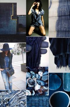Mood Board: Indigo
