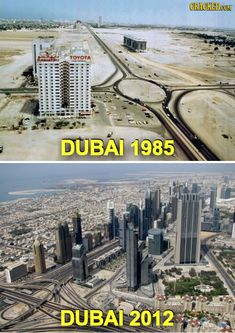 The Most Outrageous Before and After Photos You Have EVER Seen #dubai #olddubai #dubaiinpast #earlytimedubai