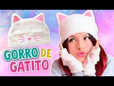 DIY KAWAII ☆ DISEÑA TUS GUANTES DE GATITO (SUPER FÁCIL) ☆ CAT GLOVES l Fabbi Lee - YouTube