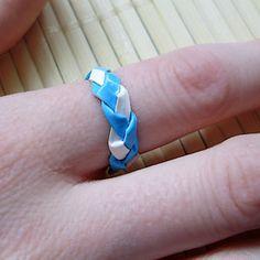 Braided Duct Tape Ring | AllFreeKidsCrafts.com