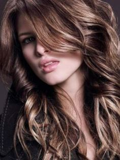 subtle highlights and lowlights..another idea for my next look :D