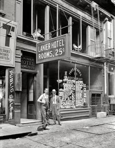 Shorpy Historical Photo Archive :: Two-Bit Hotel: 1921