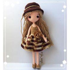Mesmerizing Crochet an Amigurumi Rabbit Ideas. Lovely Crochet an Amigurumi Rabbit Ideas. Crochet Amigurumi, Crochet Doll Pattern, Amigurumi Doll, Amigurumi Patterns, Crochet Patterns, Crochet Doll Clothes, Knitted Dolls, Crochet Dolls, Art Au Crochet