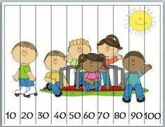 Summer Math Number Puzzles by Marcia Murphy Preschool Math, Kindergarten Math, Fun Math, Toddler Preschool, Math Games, Teaching Math, Counting Puzzles, Number Puzzles, Maths Puzzles