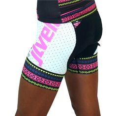 JLVelo Women's Tribal Globe SDP Cycling Bibshort