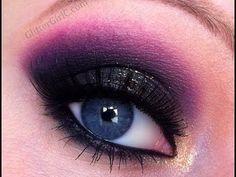 Prom+Makeup+Tutorial+-+Sparkly+black+smokey+eye