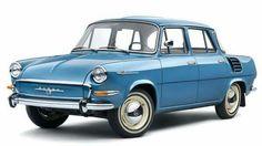 Skoda 1000MB Retro Cars, Vintage Cars, Europe Car, Old Classic Cars, Classic Motors, Top Cars, Car Humor, Car Photos, Sport Cars