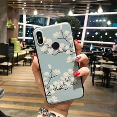 Rose Flowers Case For Xiaomi Redmi Note 7 Pro Case Mix On Redmi Note 6 pro note 5 Note Cases Cover Art Phone Cases, Diy Phone Case, Iphone Case Covers, Floral Iphone Case, 3d Rose, Note 7, Cute Cases, Blue Flowers, Galaxy Backpack