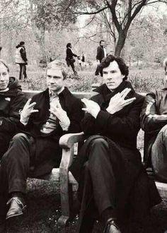 Sherlock Swag. #Sherlock #Swag #Portrait
