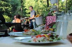 Een zomerse barbecue bij de Nachtegaal