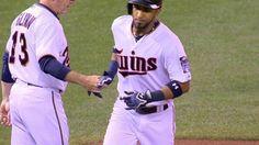9/24/2015: Eddie Rosario's (Minnesota Twins) 12th Home Run (2-Run HR) of 2015 Season (12th MLB Career Home Run) @ Minnesota Twins.