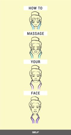 Handy face care plan number it is a nice process to take proper care for one's facial skin. Regular skin face pattern of face care. How To Massage Yourself, Korean Skincare Routine, Facial Muscles, Face Skin Care, Korean Beauty, Beauty Care, Beauty Stuff, Beauty Hacks, Face And Body
