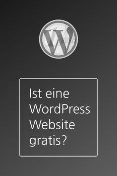 Ist eine WordPress Website wirklich kostenlos? Die Frage ist einfach. Die Antwort ist nicht ganz so einfach. In diesem Artikel erfährst Du, was Du berücksichtigen musst. Content Management System, Wordpress, Juventus Logo, Team Logo, Calm, Logos, Interesting Facts, Simple, Logo