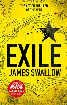 """Exile"" by James Swallow. Man, I really enjoyed this. The wrinting was just so easy to get sucked into, and the plot interesting enough to make it a real page-turner. So glad I discovered this author. Apparently there is a previous book called ""Nomad"" and a third called ""Ghost"" that all tie in together, I believe... Excited to read them now! A fantastic read!"