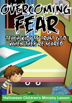 Fall Children's Ministry Lesson - Overcoming Fear – Children's Ministry Deals