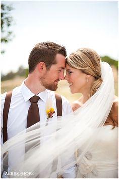 Chụp với veil cô dâu