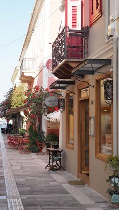 Greece Travel Inspiration- Nafplio: The Most Enchanting Town in the Peloponnese. I absolutely fell in love with the beach and old town of Nafplio on our day trip; it's definitely a place to visit when on a vacation in Greece. Check out my blog for things