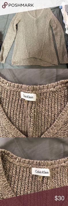 Sweater Cotton sweater. Calvin Klein Sweaters V-Necks