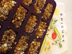 Peanut Butter Energy Bites made in the Epicure Perfect Petite pan… Epicure Recipes, Healthy Recipes, Clean Eating Recipes, Healthy Snacks, Cooking Recipes, Healthy Eating, Yummy Treats, Sweet Treats, Peanut Butter Energy Bites
