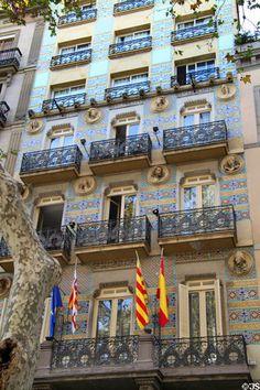 Hotel Ramblas ~ La Rambla ~ Barcelona ~ Spain.