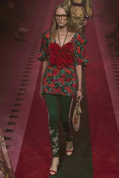c00be848566 For spring Gucci creative director Alessandro Michele continued with a  tradition of drama-filled