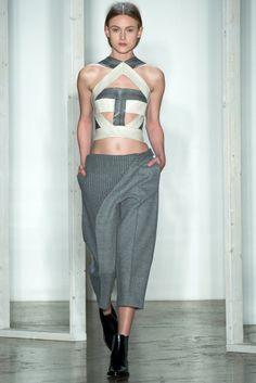 Dion Lee - Fall 2014 - NYFW - Fashion Runway