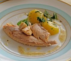 Cod acoperit cu felii subţiri de cartofi | Retete culinare - Romanesti si din Bucataria internationala