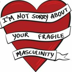 """""""Fragile Masculinity"""" by T-Hype – girl power tattoo Feminist Af, Feminist Quotes, Women Rights, Yennefer Of Vengerberg, Smash The Patriarchy, Intersectional Feminism, Girls Be Like, Women Empowerment, Equality"""