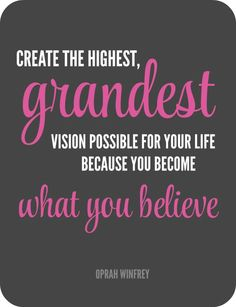 Declutterathon grandest vision quote rounded