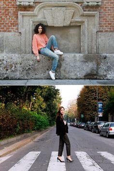STYLE ICON: GEORGIA & GIULIA TORDINI | Collage Vintage