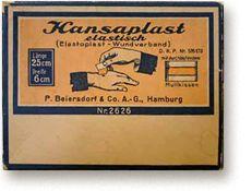 Hansaplast elastische wondpleister - Beiersdorf AG, Hamburg sinds 1922