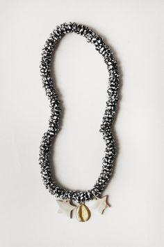 Kumasi Star Beaded Necklace