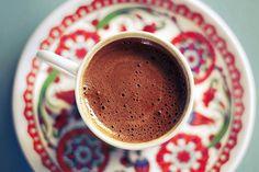 Turkish coffee in Caf Smyrna, Ortaky, Istanbul. http://www.magnificentturkey.com/ #turkish #coffee #turkey