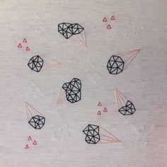 Rae Miranda embroidery. Textile Fiber Art, Thread Art, Arts And Crafts, Textiles, Embroidery, Tattoos, Tatuajes, Gift Crafts, Tattoo