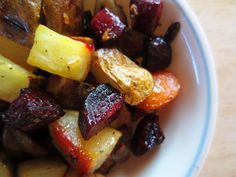 Roasted Root Veggies Un-Recipe by Raia's Recipes