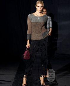 Пуловер, схема вязания на сайте Люди Вяжут