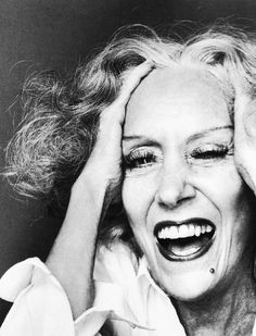 Gloria Swanson by Richard Avedon