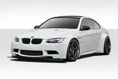 2007-2013 BMW M3 E92 E93 Duraflex Circuit Wide Body Kit - 12 Piece - Includes Circuit Front Fender Flares (112599), Circuit Rear Fender Flares (112600), Circuit Front Lip (112598), Circuit Rear Bumper
