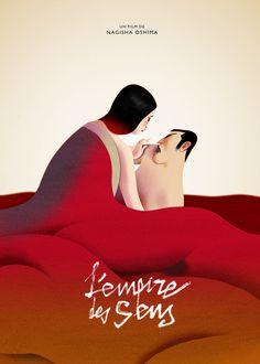 L'empire des Senses. Movie Poster on Behance