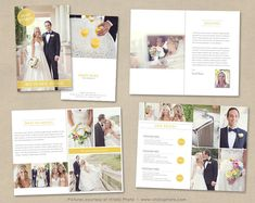 Wedding Photography Magazine Template - Client Welcome Guide