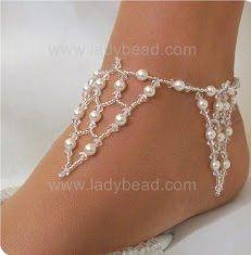 beaded wedding jewelries