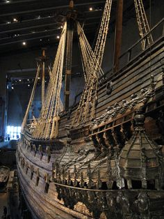 The Vasa Museum (Swedish: Vasamuseet) is a maritime museum in Stockholm, Sweden. Located on the island of Djurgården, the museum displays the only almost fully intact 17th century ship that has ever been salvaged, the 64-gun warship Vasa that sank on her maiden voyage in 1628.