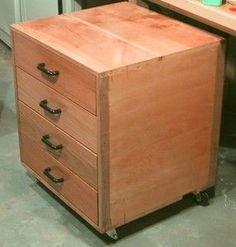 storage and shelving Diy Furniture Making, Diy Home Furniture, Furniture Projects, Wood Furniture, Diy Storage Drawers, Diy Garage Storage, Workshop Storage, Diy Workshop, Wood Tool Box
