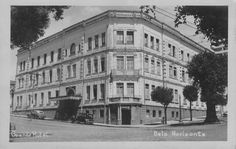 Grande Hotel (1895-1955), onde hoje está localizado o edifício Maletta - Belo Horizonte, Minas Gerais, Brasil