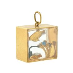 Vintage Large Fish Aquarium Charm from abrandtandson on Ruby Lane