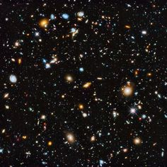 10,000 galaxies as photographed by Hubble Space Telescope (2014).